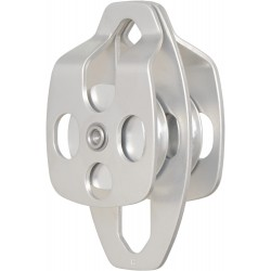 Double Pulley with moveable Flanges, double attachment