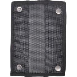 Removable abrasion resistant shoulder pad