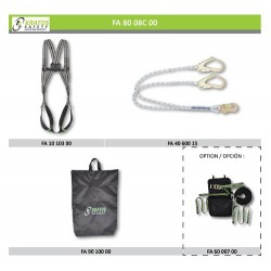 Work station prevention - Recommendation n°1 (Harness + Lanyards)