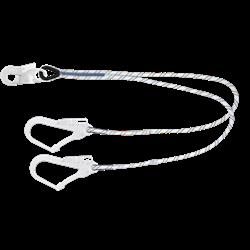 longes fourches en corde tressée 1m50