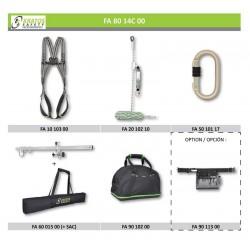 Door frame work - Recommendation n°1 (Harness + Anchorage)