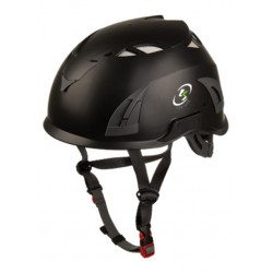 Casco de seguridad FOX - color negro