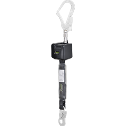 Retractable fall arrester with webbing lanyard Lg 2.50 mtr