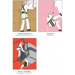 Harnais Spécifique Eolienne avec protection électrique