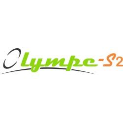 Mini polymer casing with webbing lanyard Lg. 2m