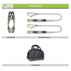 Scaffolding - Recommendation n°1 (Harness + Lanyard)