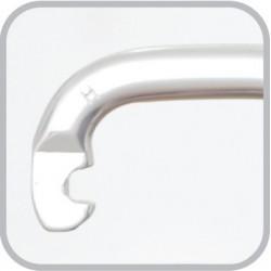 Mousqueton aluminium à verrouillage à vis