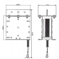 Antichute de charge (maxi 1000 kg)
