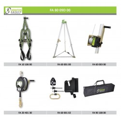 Confined space - Recommendation n°2 (Harness + Anchorage)