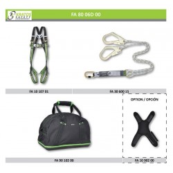 Scaffolding - Recommendation n°2 (Harness + Lanyard)