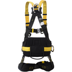 REVOLTA Full Body Harness with work positioning belt (L-XXL)