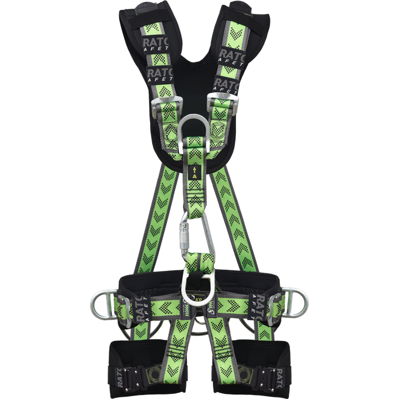 Suspension body harness comfort