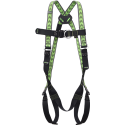 Body harness 2 attachment points, with automatic buckles