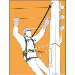 HELIXON câble, antichute à rappel automatique 7 m, pour utilisation verticale seulement