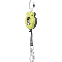 HELIXON cinghia, anticaduta retrattile da 3,5 m, per utilizzo verticale solamente