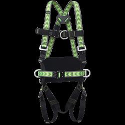 Harnais antichute 2 points d'accrochage, ceinture et boucles automatiques