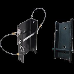 Conjunto de platinas universales para instalar el torno de trabajo y rescate sobre el MultiSafeWay