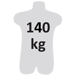 HELIXON Edelstahl Drahtseil, Höhensicherungsgerät mit automatischem Rückzug 20 m, Nur für den vertikalen Gebrauch