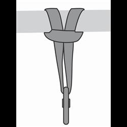 Anello di ancoraggio lunghezza 2 m
