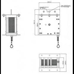 Load arrester (max1000 kg) - 16 m