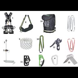 """""""Premium"""" rope access kit"""