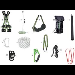 Kit de acceso mediante cuerdas