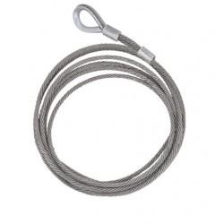 Câble inox pour système antichute coulissant
