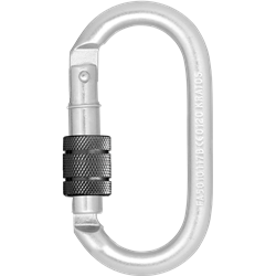 Steel Screw-locking Karabiner