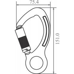 Aluminium Snap Hook