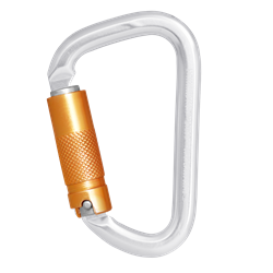 Aluminium Triple action locking Karabiner