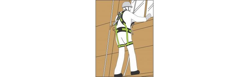 Kit pronti all'uso per la discesa in corda doppia