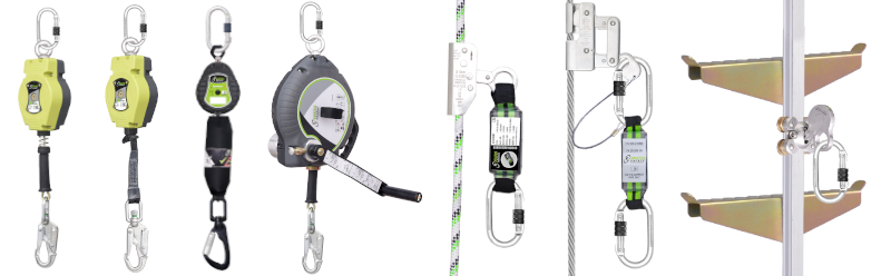 Retractable fall arrest and rope grab