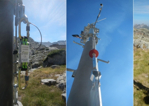 Installation of KS 2001 systems in the Pyrenees